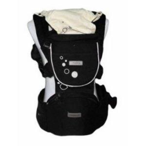 nanarak เป้อุ้มเด็ก Hip Seat Carrier (สีดำ)