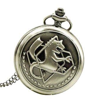 Cocotina Anime Fullmetal Alchemist Edward กระเป๋านาฬิกากับสร้อยคอและแหวนเครื่องประดับชุดคอสเพลย์ รีวิว