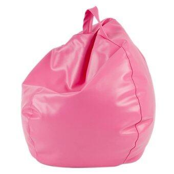 Esupersave เก้าอี้ Beanbag ทรงหยดน้ำ Ø60 ซม. - สีชมพู (มีหูหิ้ว) ลาซาด้า