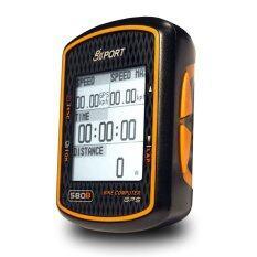 GPS Bike Computer จับเวลา วัดความเร็ว บันทึกตำแหน่ง และคำนวณแคลอรี่ รุ่น GB-580B (Black)