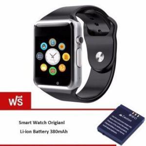 MEGA Fashion Smart Watch with Bluetoothรุ่น MG0032 (Black/Silver) (ฟรี 1pc Smartwatch Battery)