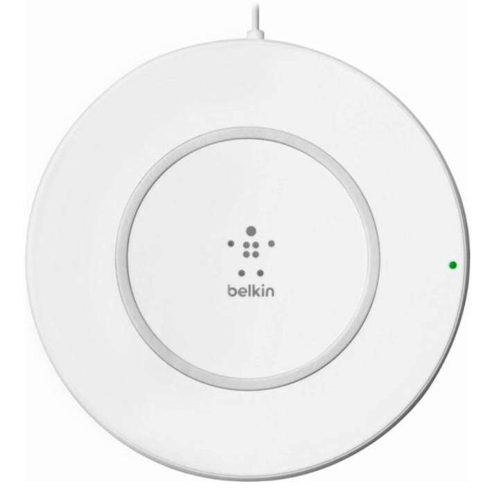 Belkin BOOST UP Wireless Charging Pad for iPhone 8 / 8 Plus / X (7.5W) with Power Supply Adapter 15V/20W (F7U027dqWHT) belkin เพิ่ม 2 ผลิตภัณฑ์ในกลุ่ม boost↑charge™ - Belkin เพิ่ม 2 ผลิตภัณฑ์ในกลุ่ม BOOST↑CHARGE™
