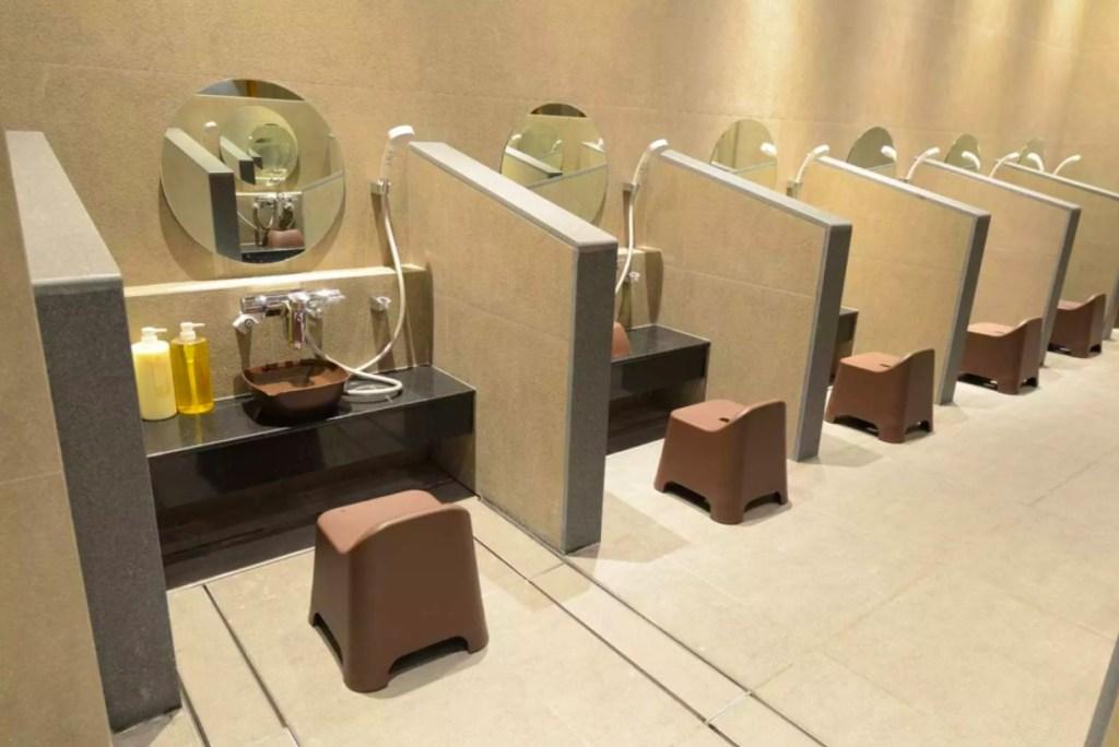 จุดอาบน้ำสไตล์ญี่ปุ่น