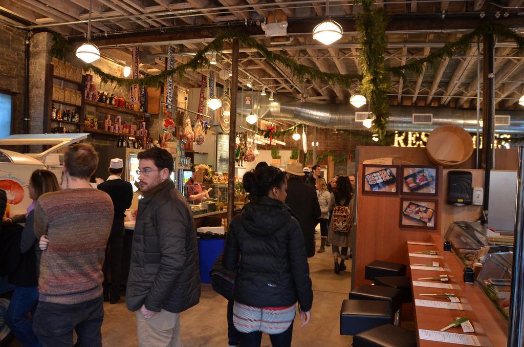 ตลาดแกนส์วอร์ท Gansevoort Market