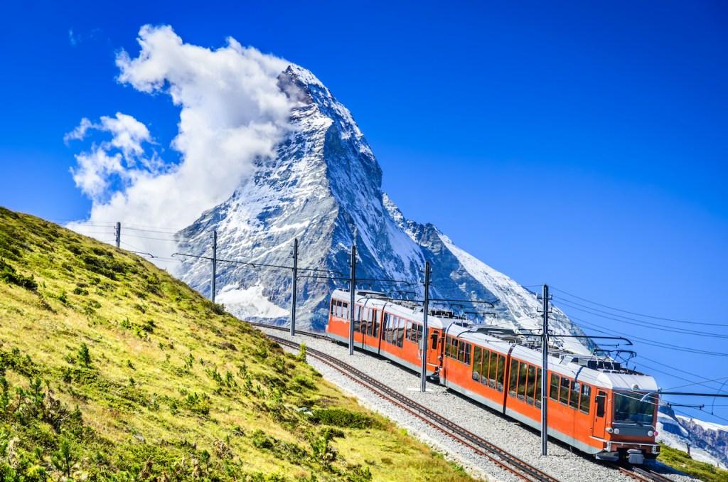 รถไฟสาย Wengernalp Railway