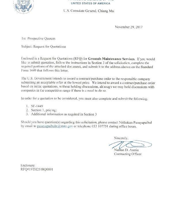 Bid Invitation Letter Inviview