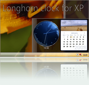 Longhorn Clock for XP.