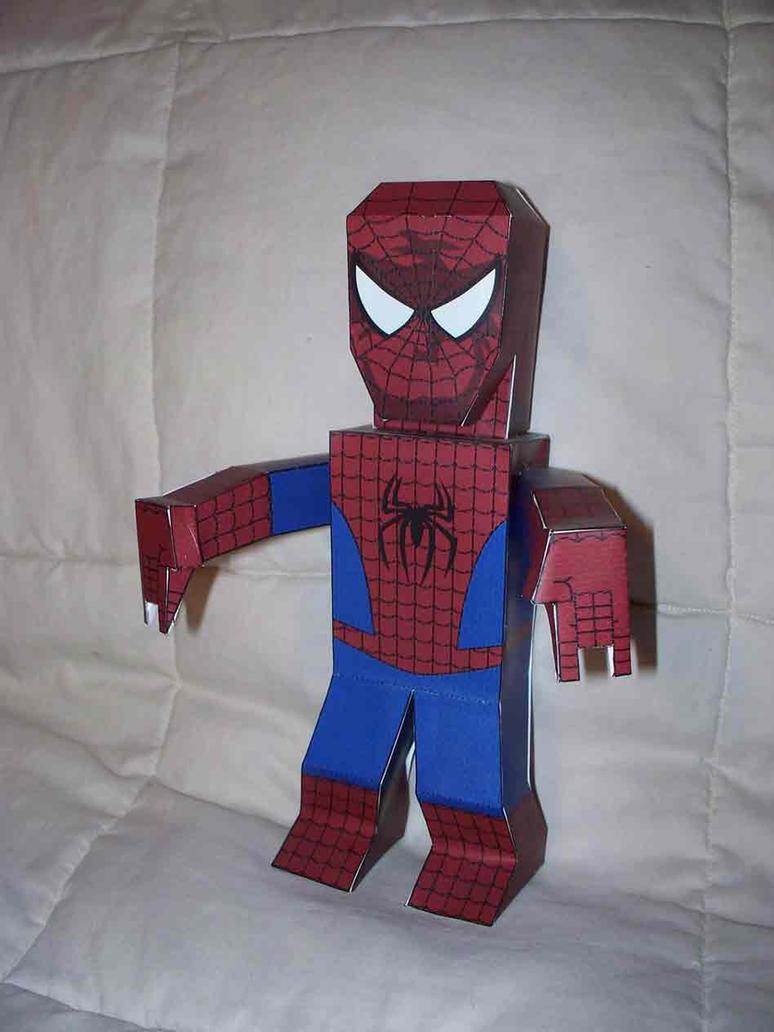 Spider Man Paper Hero By SharkBomb On DeviantArt