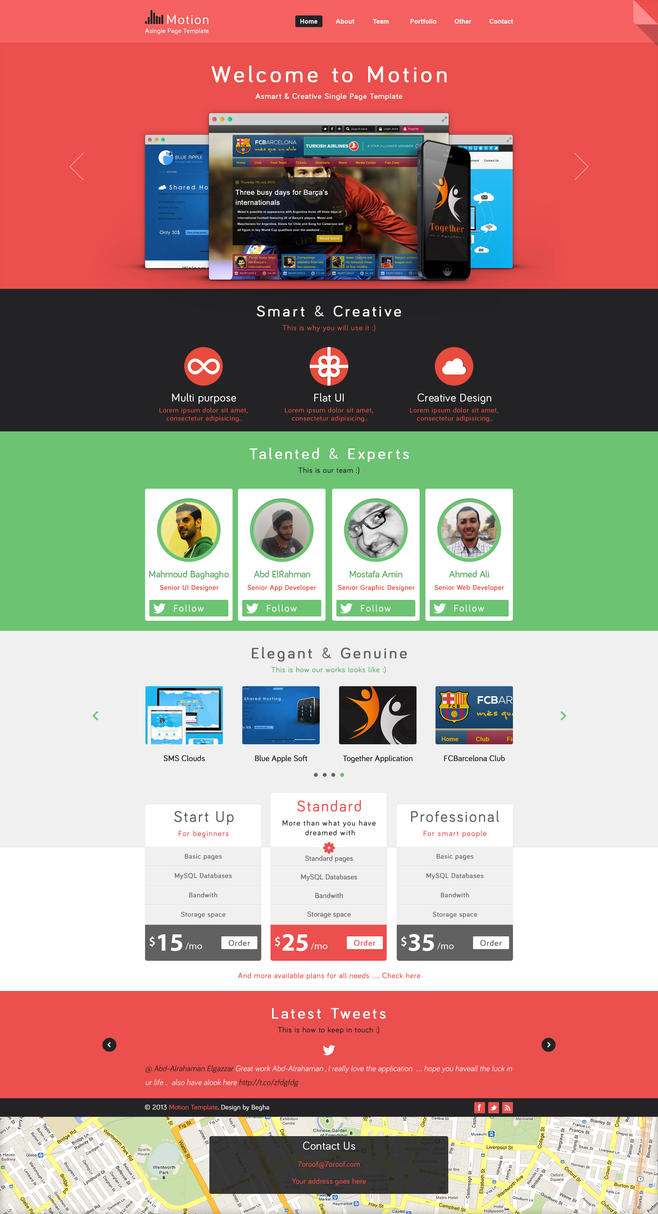 motion single page psd for free by begha on deviantart