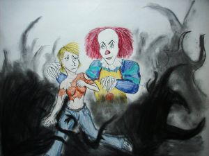 The rendition of my horrible clown-chase dream...
