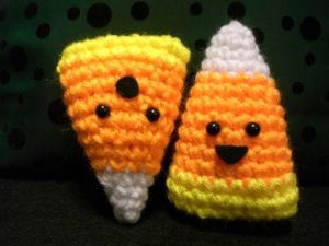 Amigurumi Candy Corn by ~Slowdance-Romance