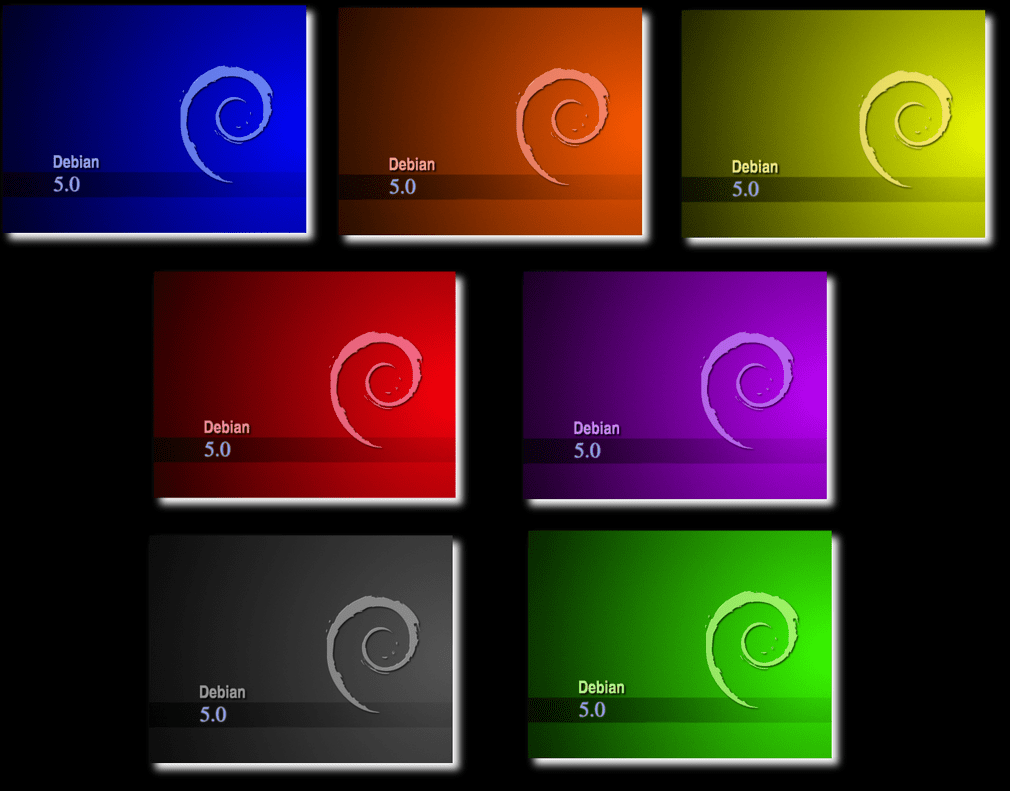 debian colors