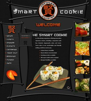 The Smart Cookie Deviant template