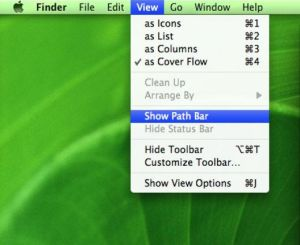 Mac's bar representing the Finder application (similar to Explorer in Windows)
