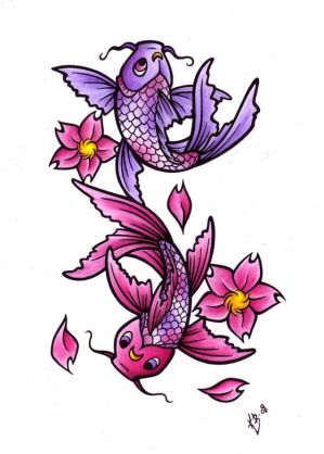 Typically Nice Japanese Koi Fish Tattoo Designs Gallery Art Picture 7