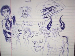 More sketches from the show with an assorted amount of Tim Curry. :3