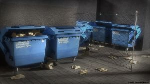 Garbage Container cycles render