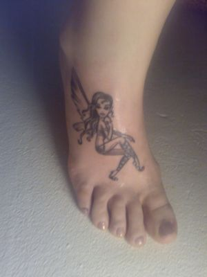 """Fairy Foot Tattoos Picture 5 """" Fairy Foot Tattoos Picture 5 """""""