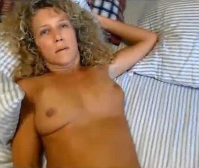 Curly Blonde Milf Sucking And Fucking