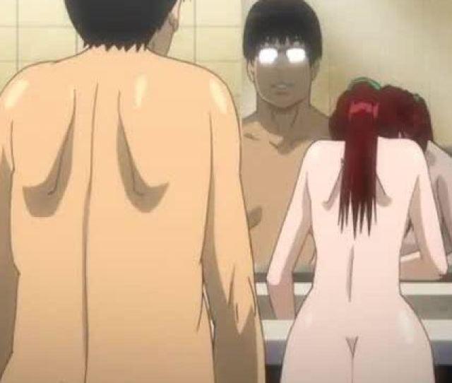 Japanese Hentai Hardcore Fucked In The Bathroom
