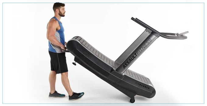How to move the treadmill upstairs
