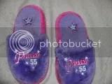 purple slippers sz 131 2