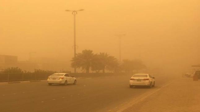 رياح نشطة وأتربة مُثارة على عددٍ من محافظات منطقة مكة المكرمة وتنبيه لمنطقة نجران