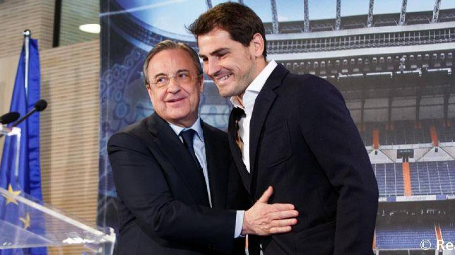 كاسياس يعود إلى ريال مدريد بعد 5 سنوات على رحيله