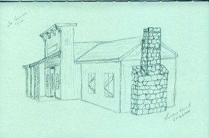 Sketching Old Shawnee Town