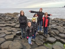 Giant's Causeway - the visitor center is worth stopping to visit on your way to the rocks.