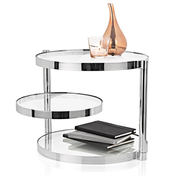 Glas Side Table Accessoires