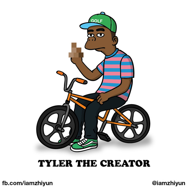 Cartoon X POP by Zhi-Yun Zhang Tyler the creator