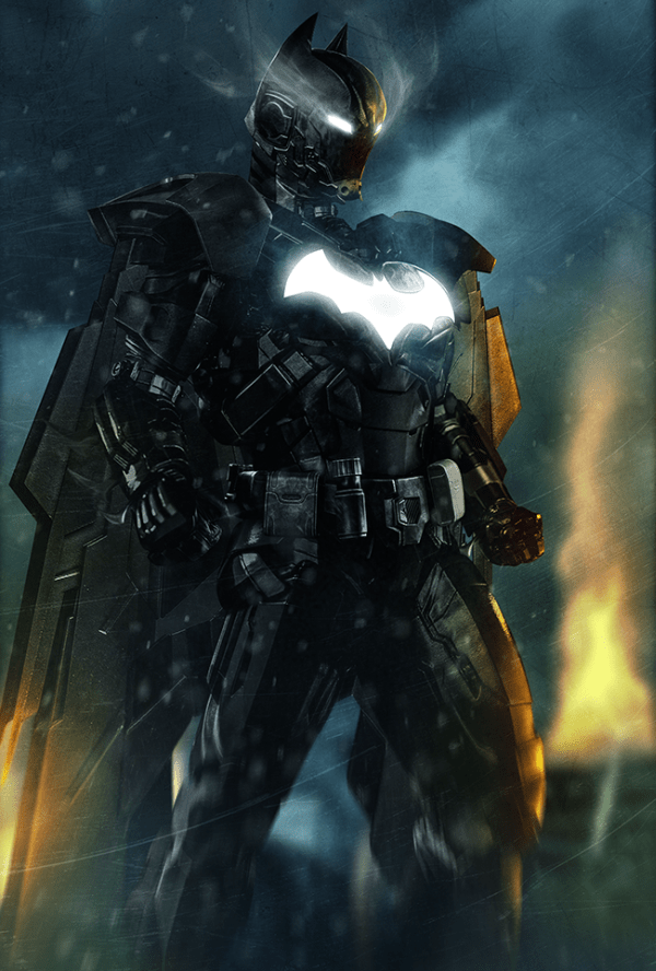 Insane Iron Man mash up by BossLogic Batman