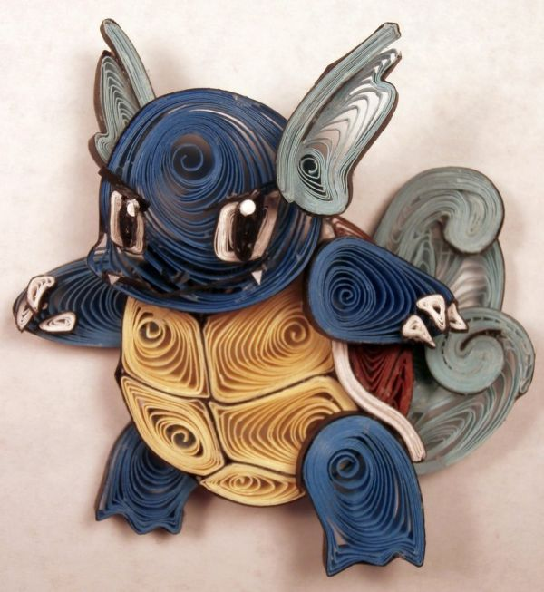 Paper Quilling Starter Generation One by Aimie Holdorf Wartortle