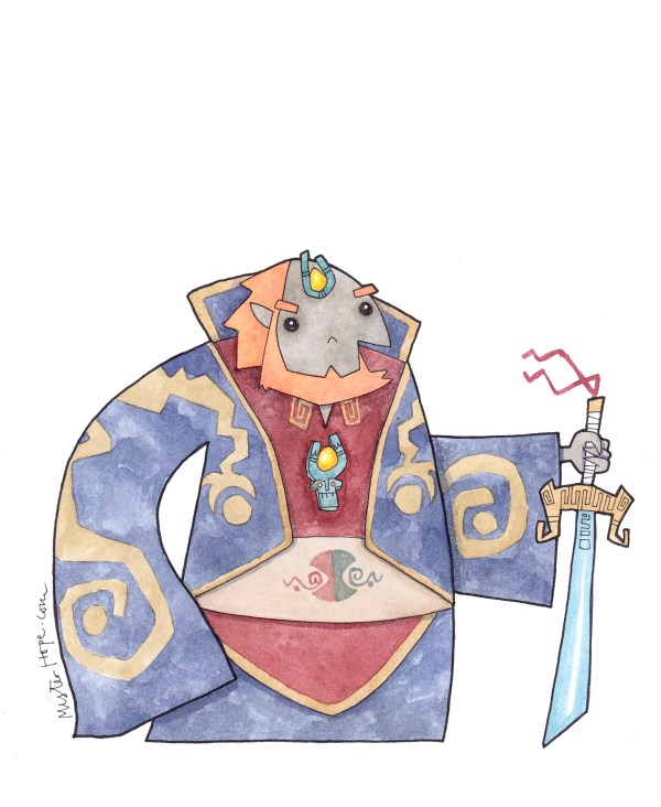 Ganondorf-Drawings-Mister-Hope