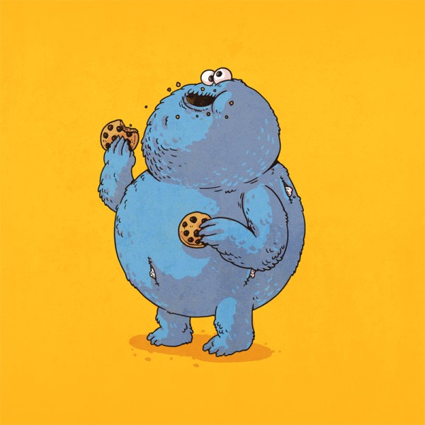 The Famous Chunkies Alex Solis Cookie Monster