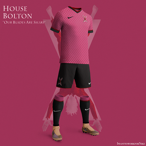 Game of Thrones World Cup Nike Concepts House Bolton