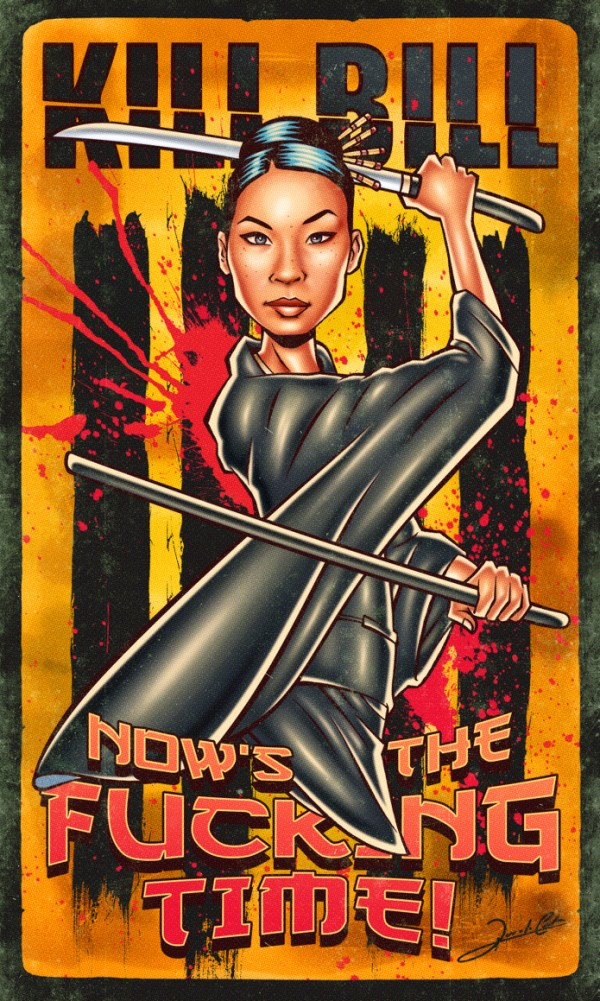 Iconic Series and Movie Heroes kill bill