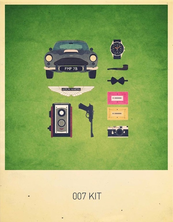 Movies Hipster Kits Bond