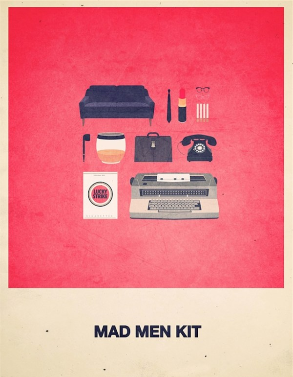 Movies Hipster Kits Mad Man