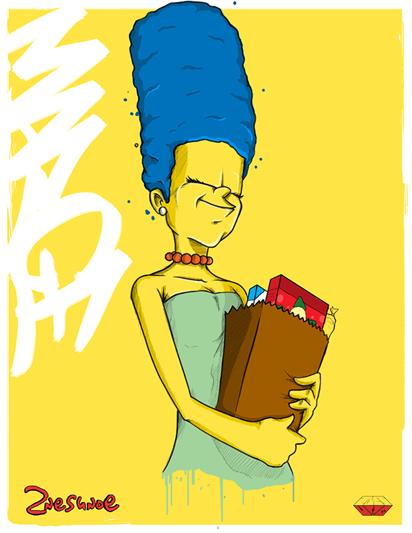 Simpsons-Marge-Favorite-Family