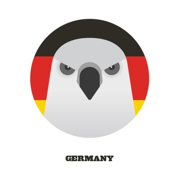 World Cup Postcards Germany