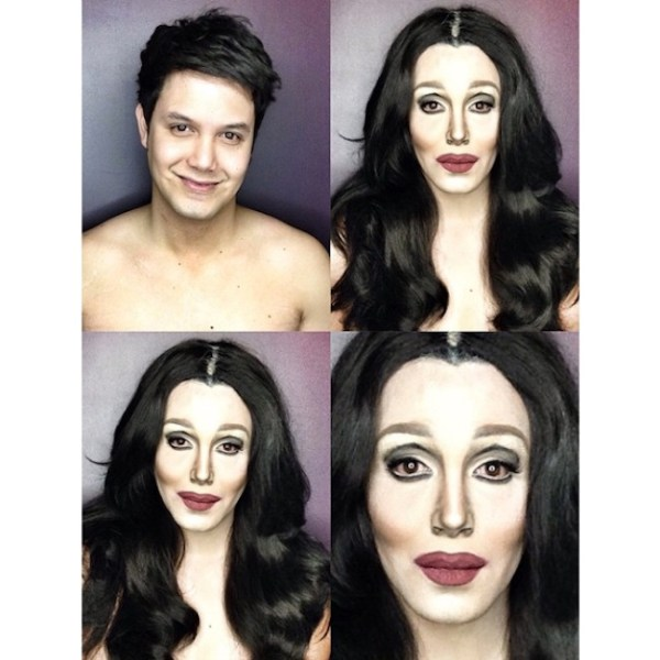 Makeup Transforms Into Various Female Celebrities by Paolo Ballesteros 04
