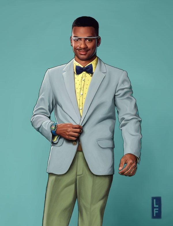 Updated Fresh Prince Character for the 21st Century by Leland Foster & Lyst Carlton