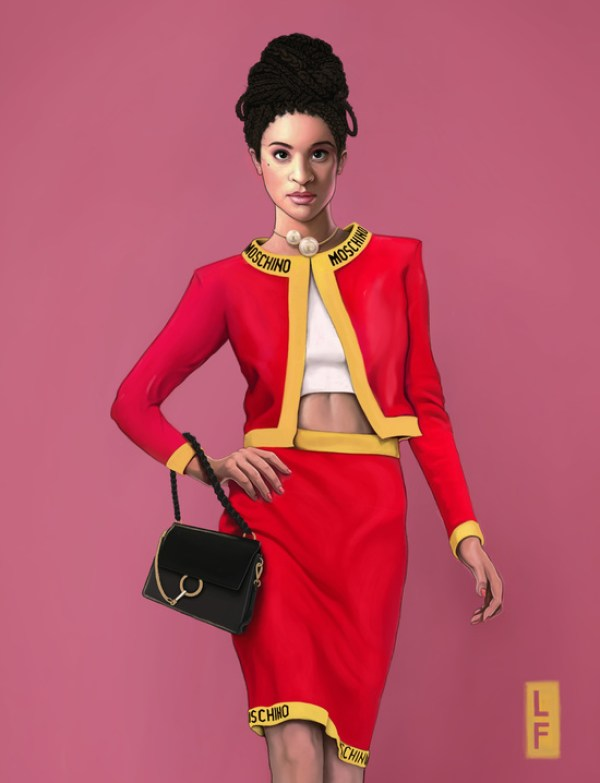 Updated Fresh Prince Character for the 21st Century by Leland Foster & Lyst Hilary