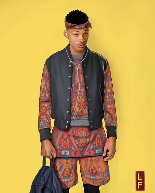 Updated Fresh Prince Character for the 21st Century by Leland Foster & Lyst Will