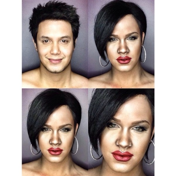 Makeup Transforms Into Various Female Celebrities by Paolo Ballesteros 10