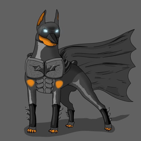 Animals like Superheroes by Suraj Sirohi doberbatman