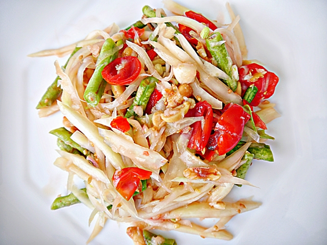 Som Tum Recipe: Thai Papaya Salad | ส้มตำ