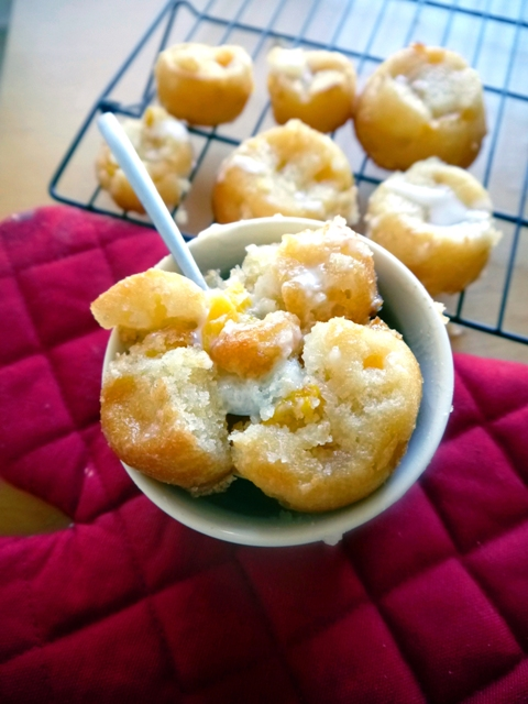 Mini Mango Cobblers with Coconut Cream Recipe